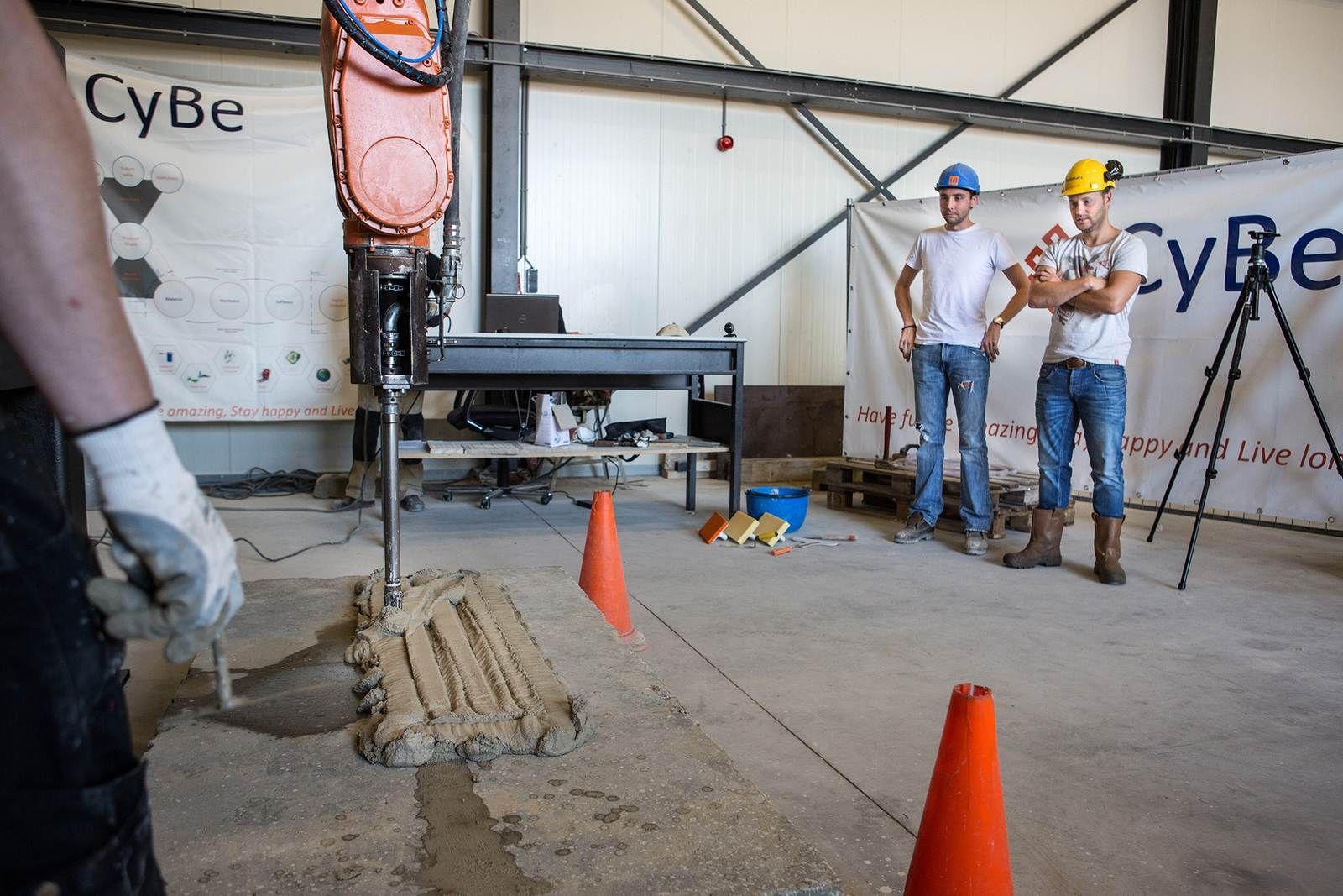 3D geprinte betonnen bekisting