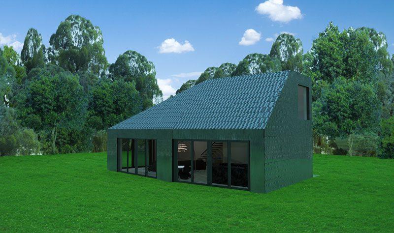 Huis van 100 gerecyclede materialen - Nieuw huis ...
