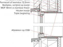 Detail bouw Eco Huus