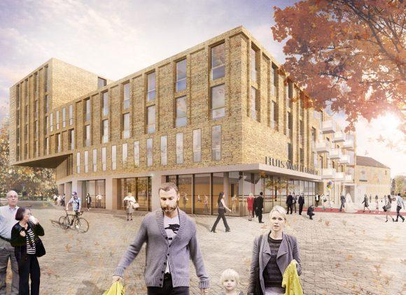 Huis van leusden verbindt mensen - Daken en volumes ...