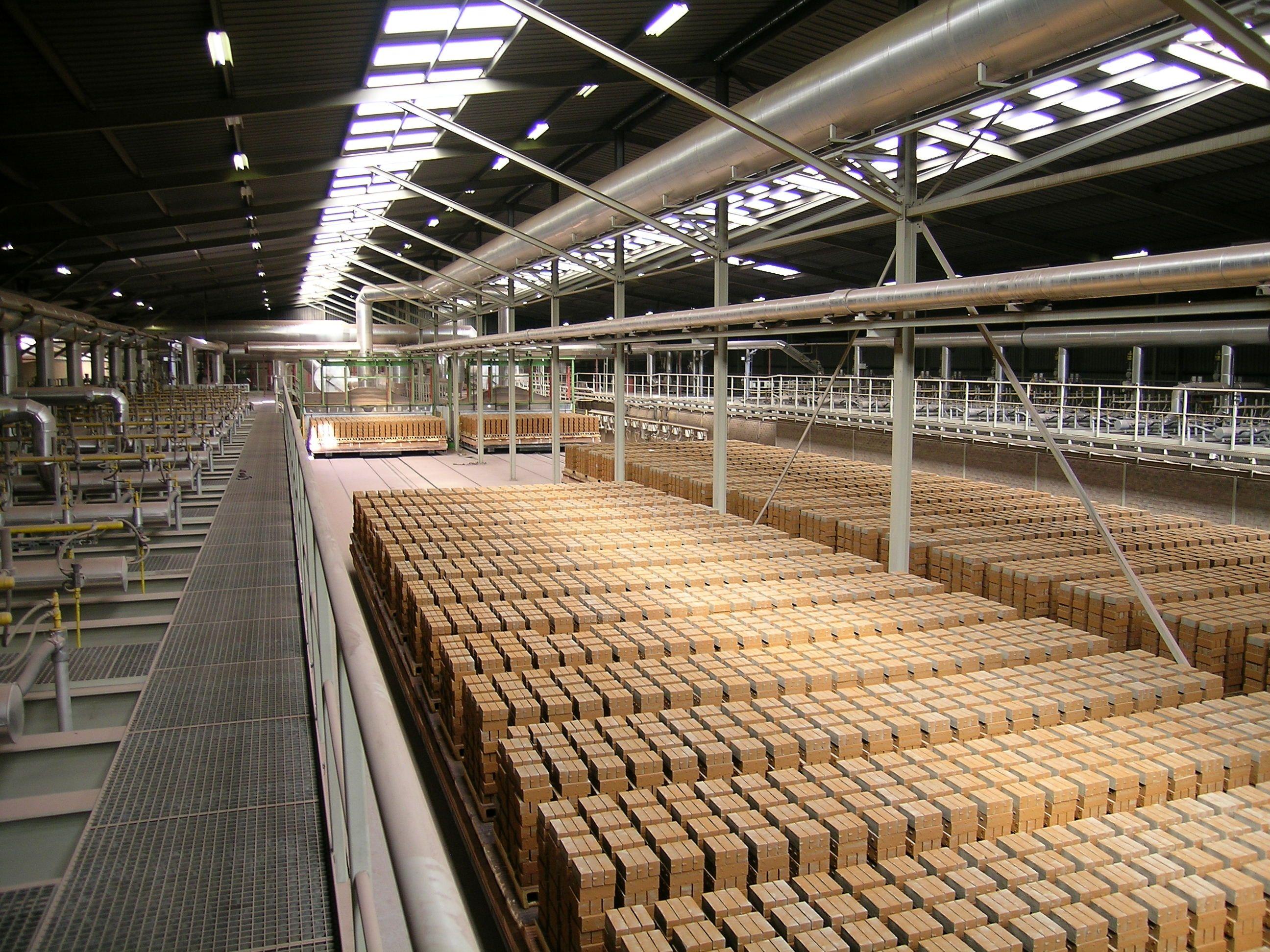 Excursie baksteenfabriek