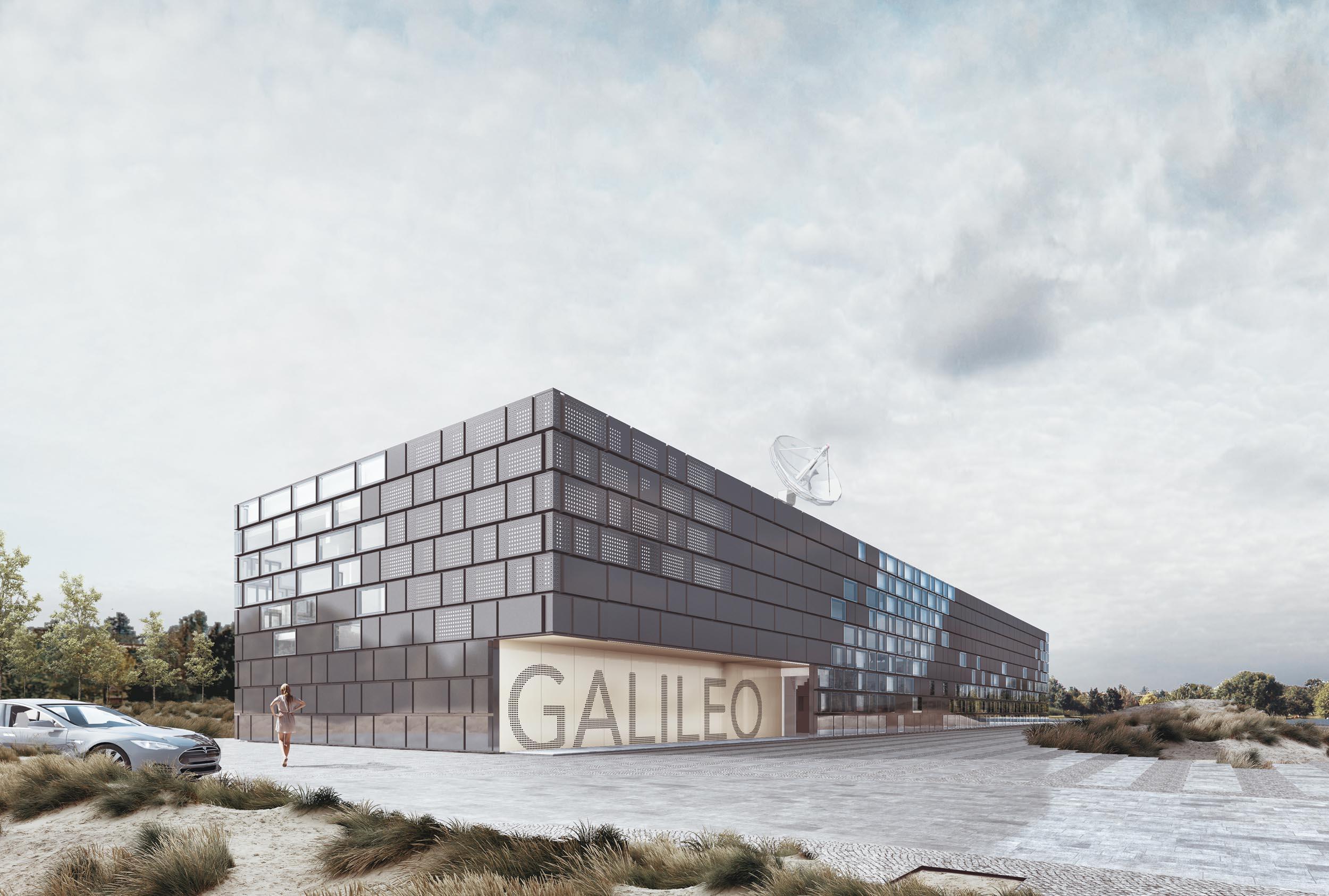 Duurzaam ontwerp voor Galileo-gebouw