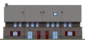 De texturen kunnen direct in het 3D-gebouwmodel worden geladen.