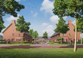 BAM Woningbouw modelleerde 28 koopwoningen voor Boelse Hof in Nijmegen met de BIM-tool.