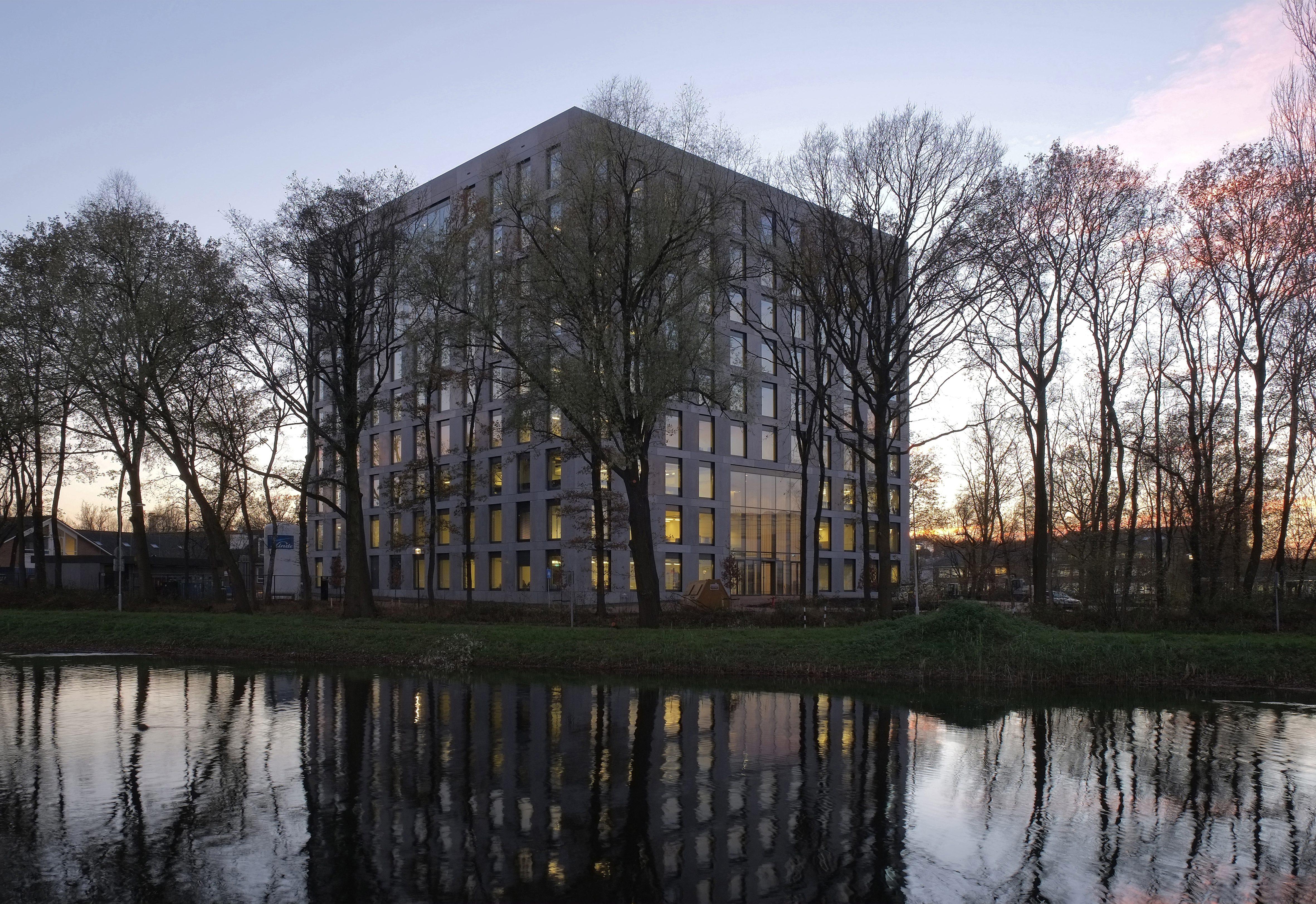 'Helix' gebouw op Wageningen Campus