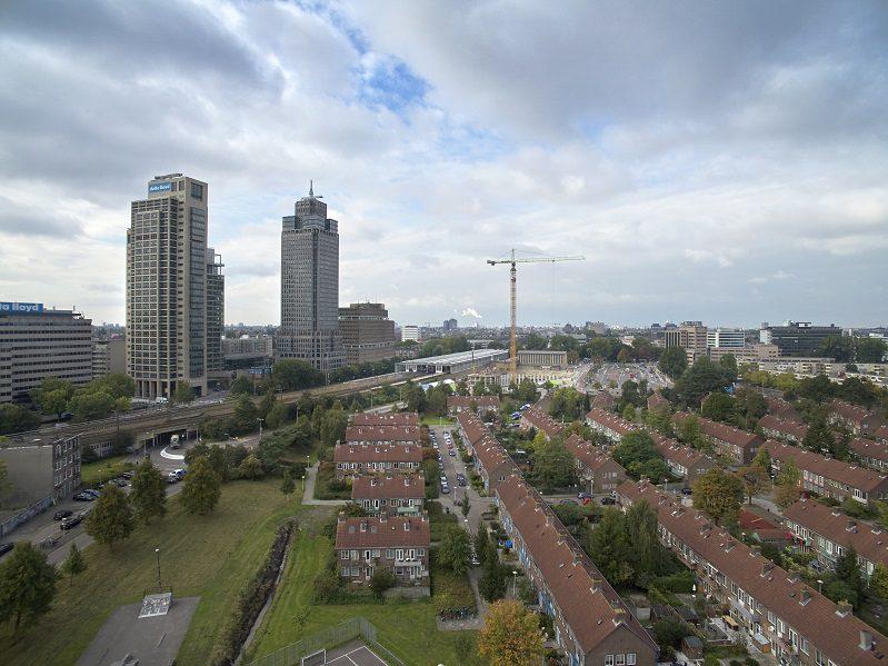 Bouw Amstel Tower gaat de hoogte in