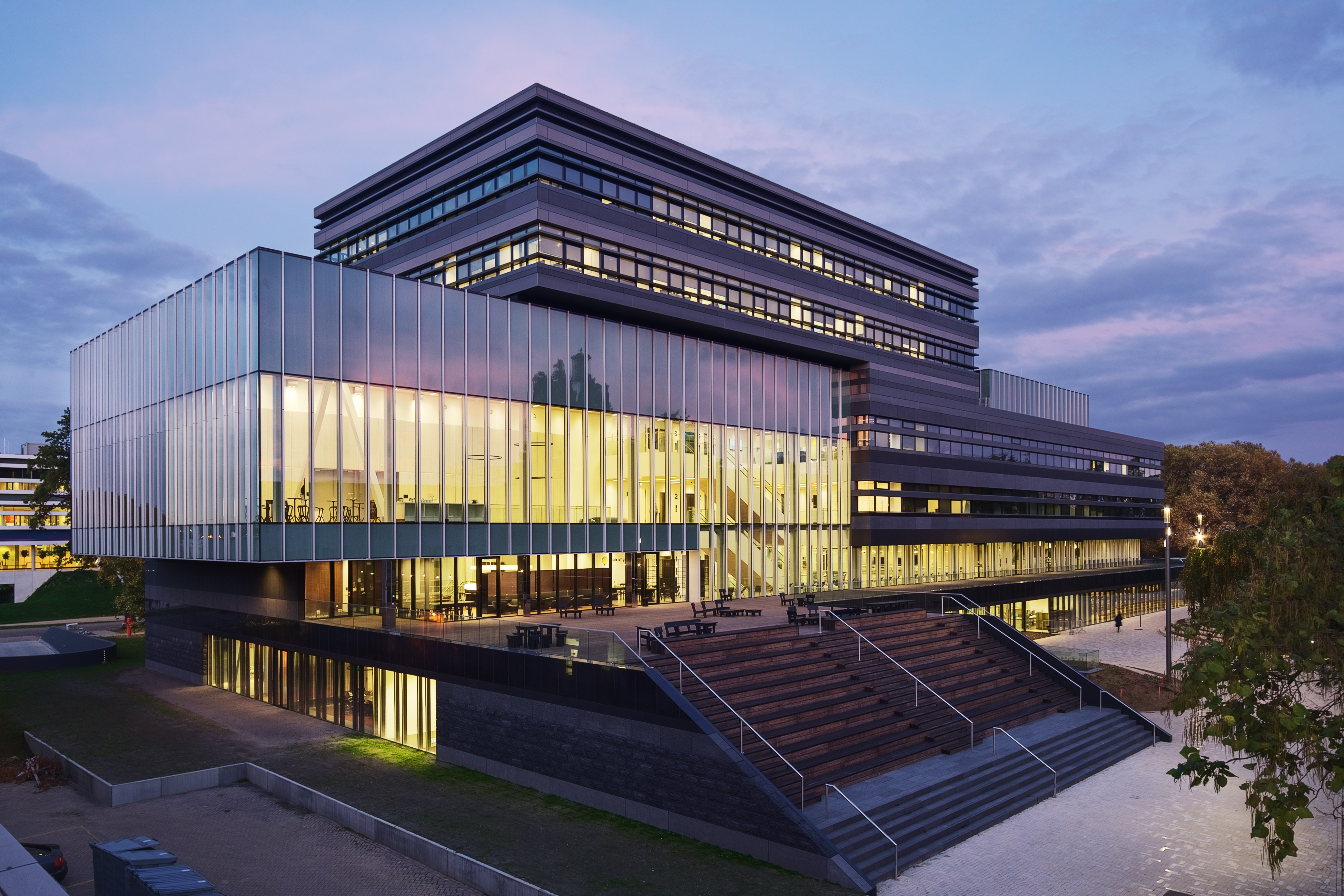 Nieuw Campusgebouw Het Center Court Bouwwereldnl