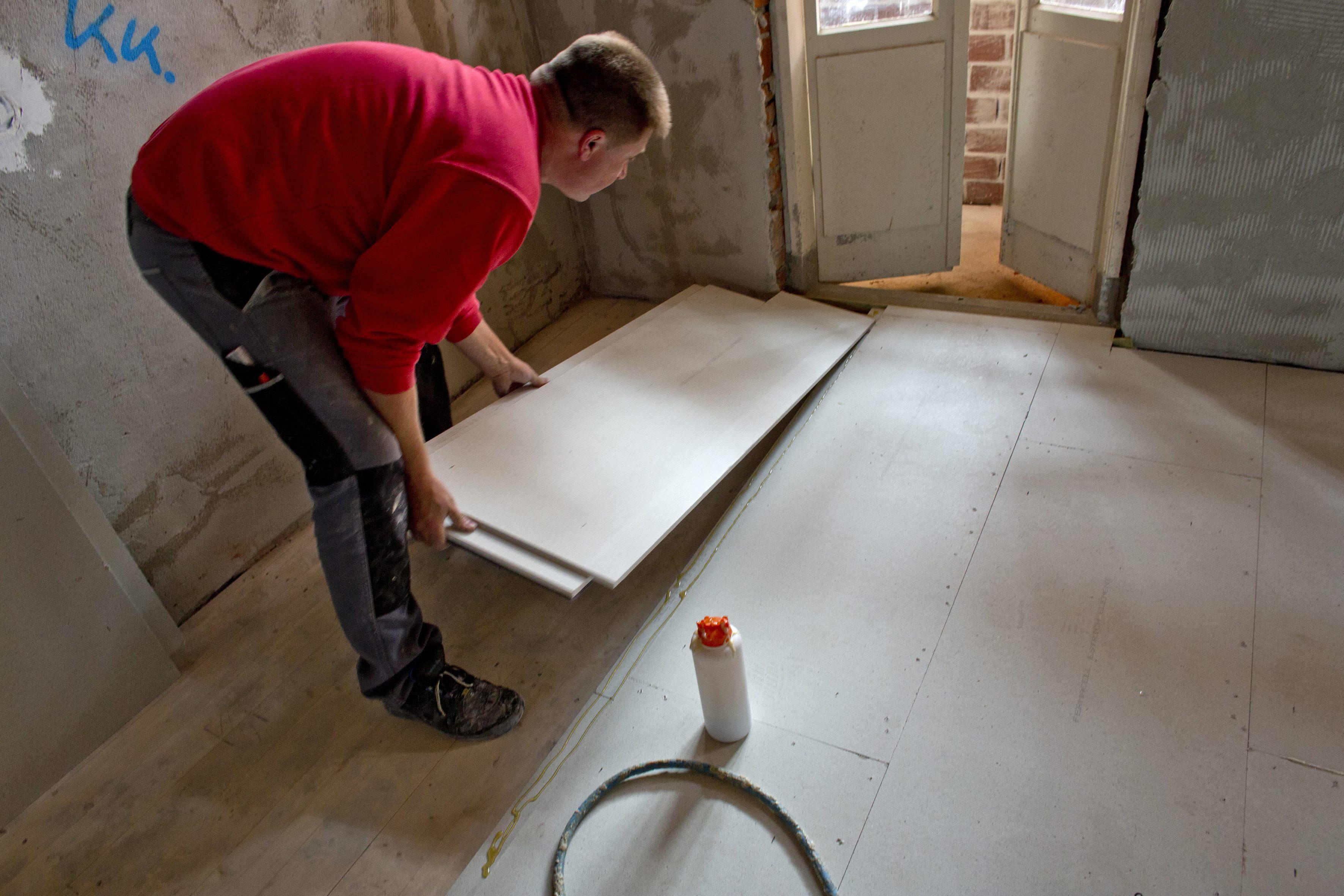 Vloeren in combinatie met vloerverwarming houten vloeren