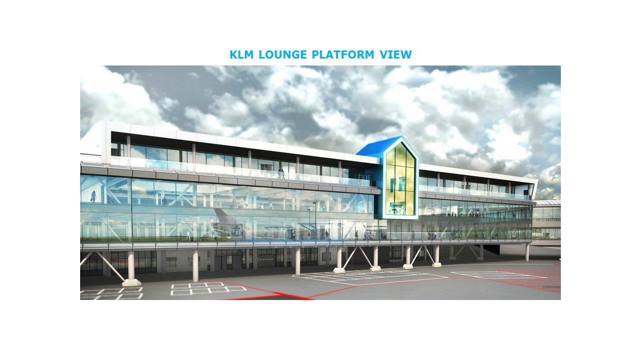 Verbouw KLM Crown Lounge Schiphol