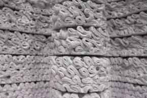 Fire Wall: Filigreine patronen van 3D geprint beton