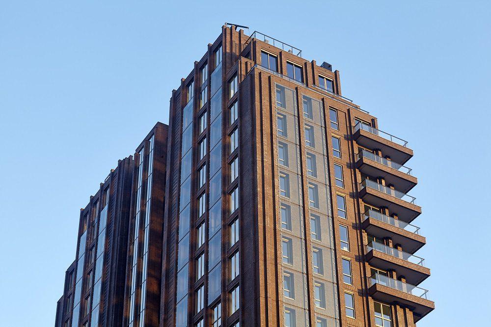 Klassieke skyscraperopbouw
