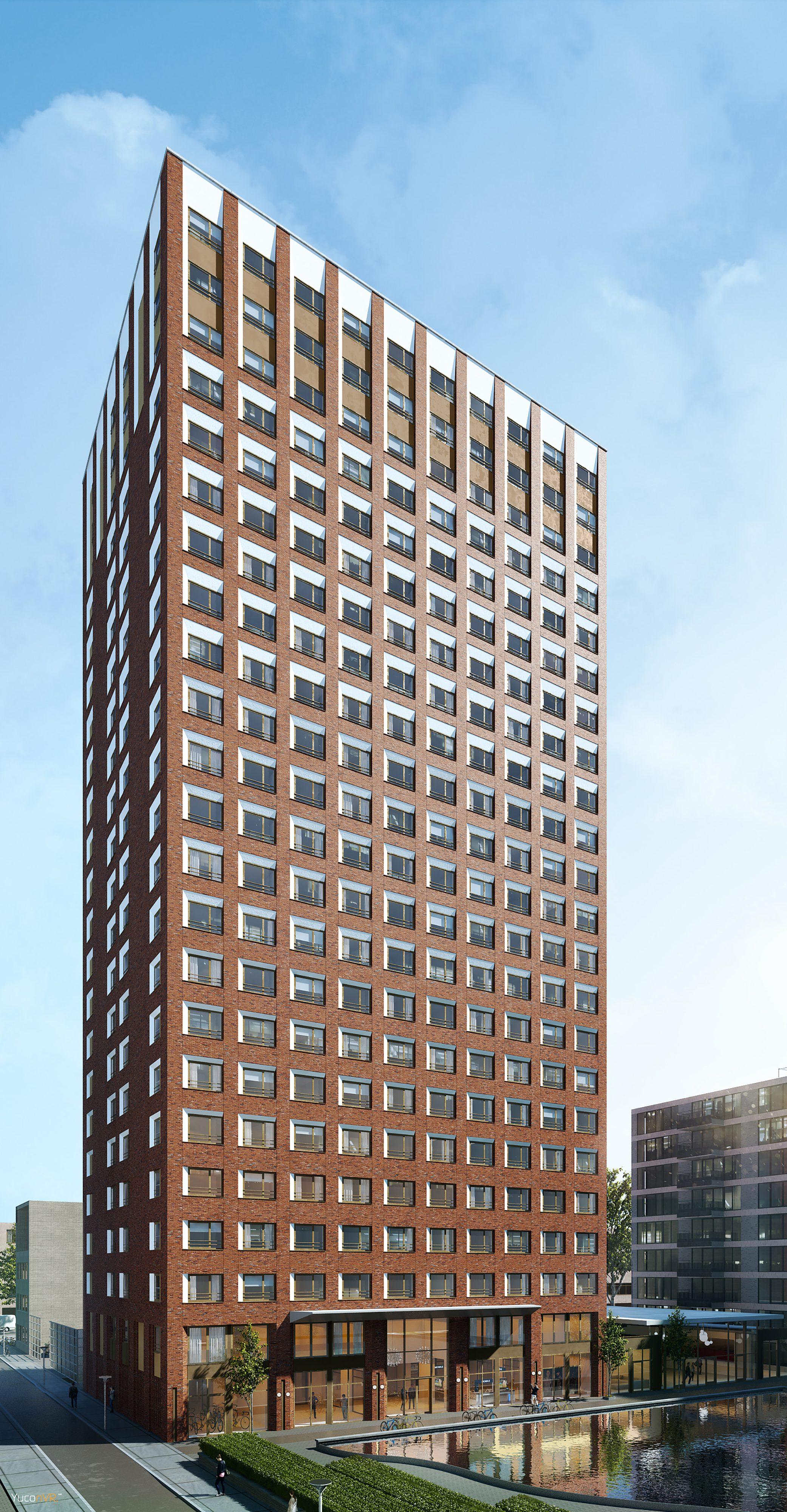 Nieuwbouw 481 studentenwoningen in Den Haag