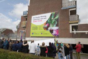 Renovatie van gevels in Zoetermeer