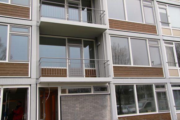 Flat met Toekomst, balkon, koudebrug