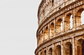 Colosseum, Romeins beton