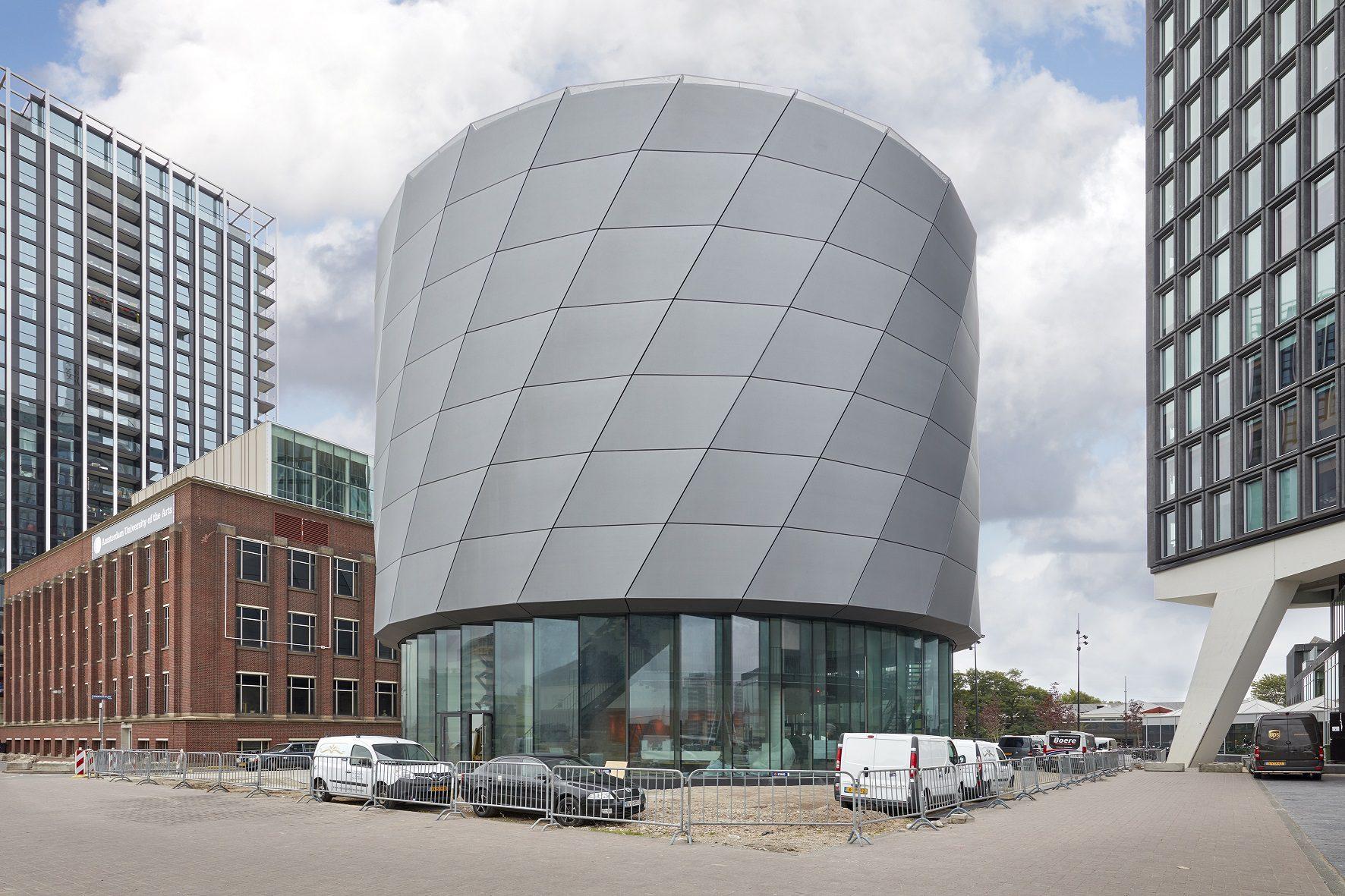 This is holland, membraangevel, aluminium profielen