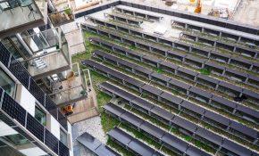 Alle beschikbare dakruimte is voorzien van PV-panelen