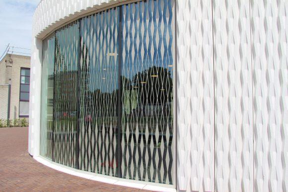 Burgerhoes Landgraaf, beton gevel
