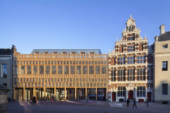 Gemeentehuis Deventer, Neutelings Riedijk architecten, bonnemaprijs bouwtechnisch