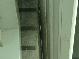 bouwpathologie, bouwschade, detail, dakaansluiting, spatten
