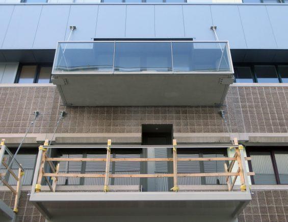 balkon, ophanging, willemsanker