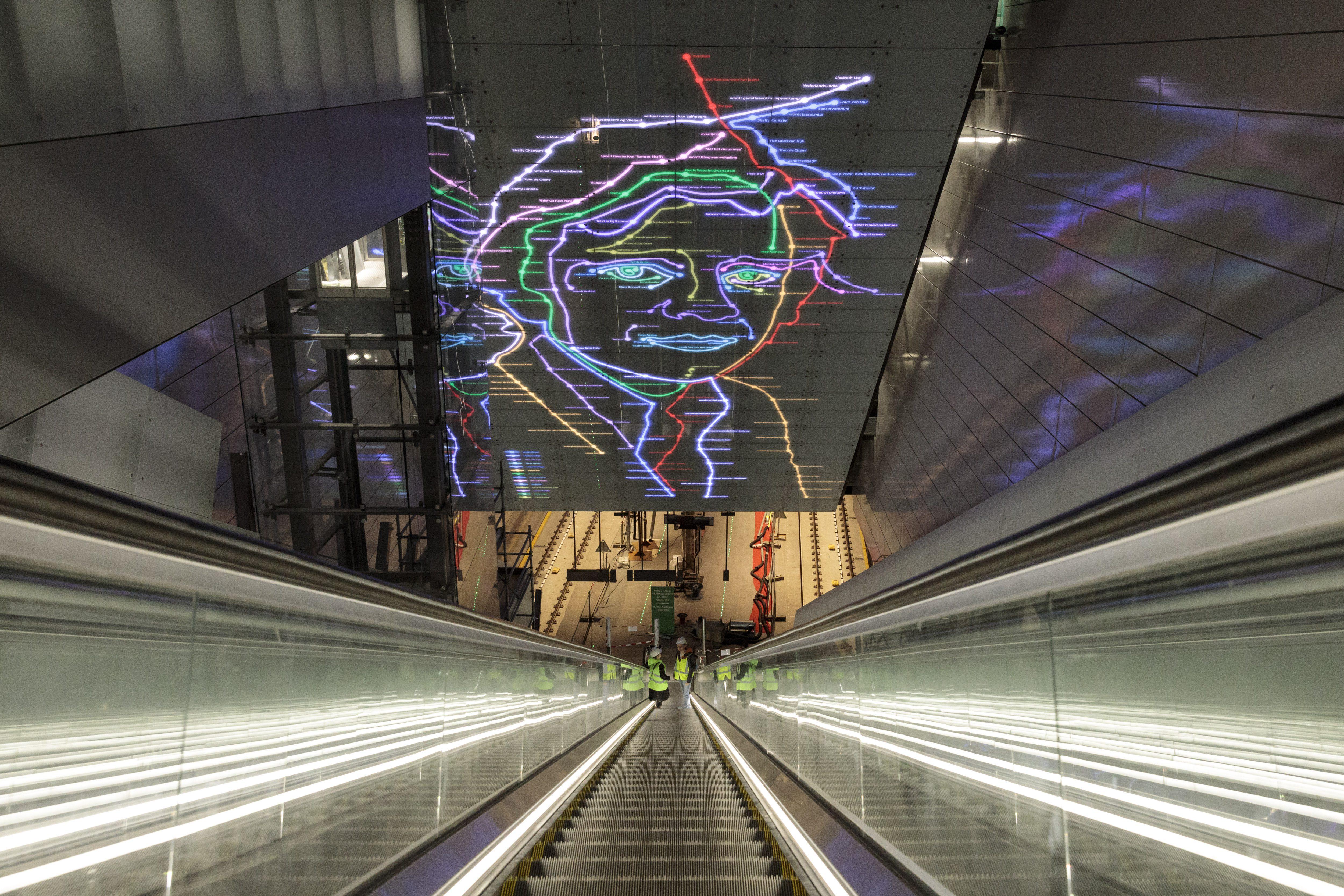 noord/zuidlijn, metro, open dag