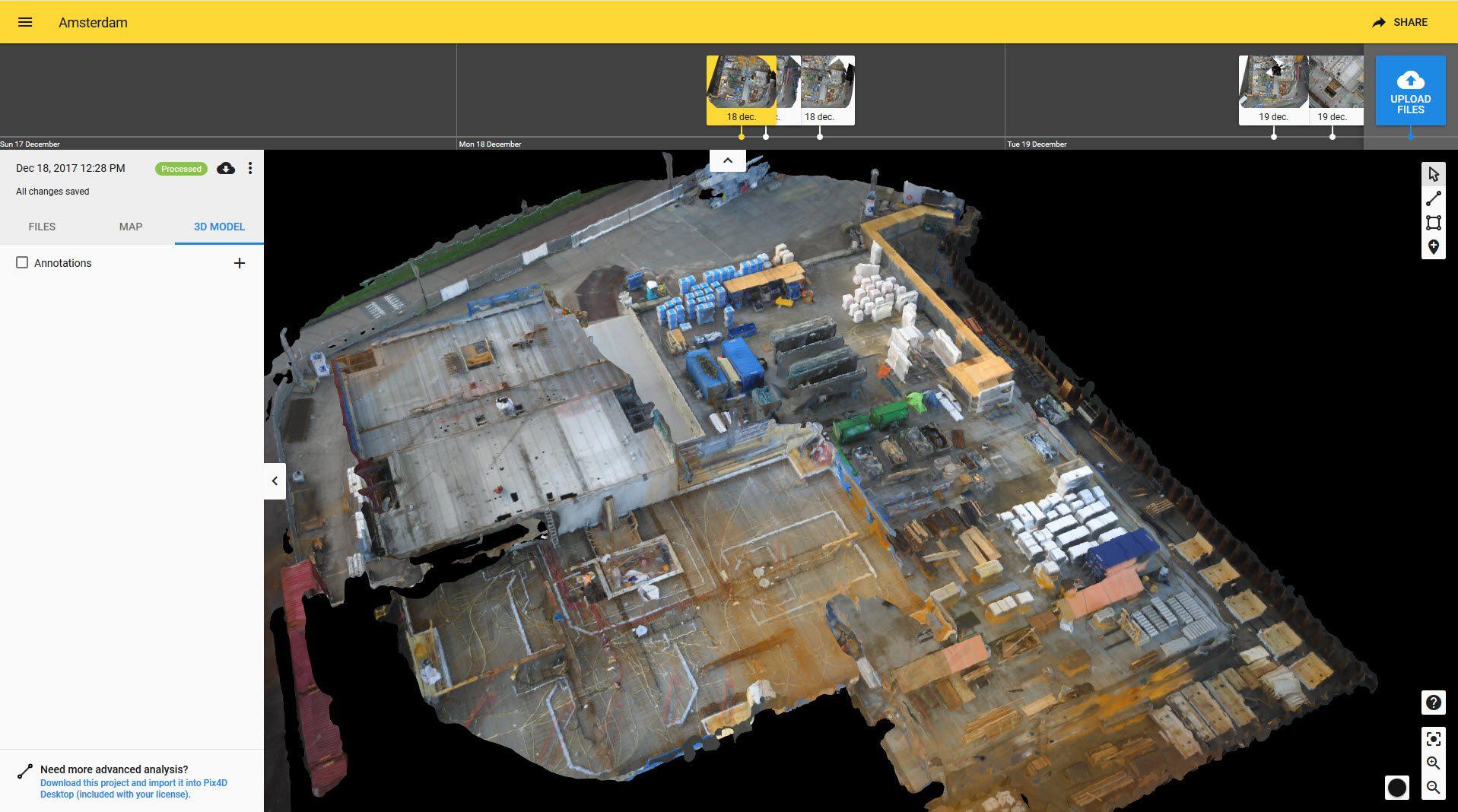 Pilot BIM-Software en bouwplaatsmonitoring 5