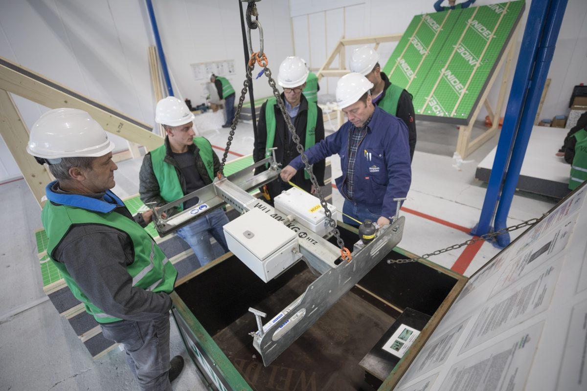 Unidek traint bouwprofessionals