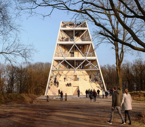 uitkijktoren, accoya, pompejus