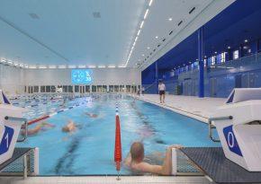 Transformatie kantoor naar zwembad » bouwwereld.nl