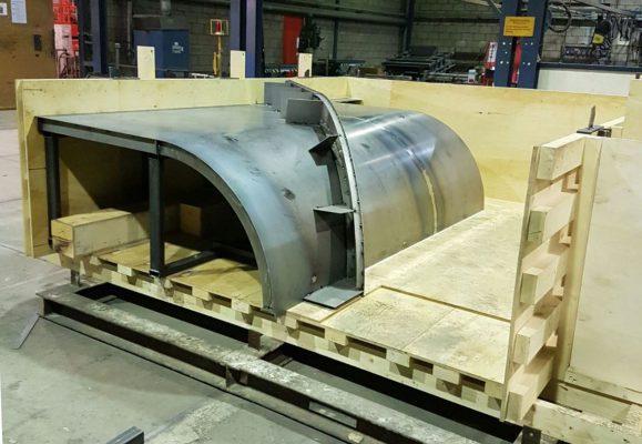 Vebo Beton & Staal maakte mallen in zowel hout als staal. (Foto: Vebo)