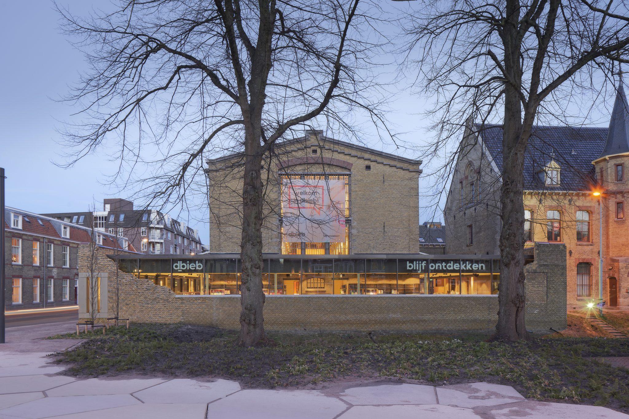 glazen uitbreiding Blokhuispoort