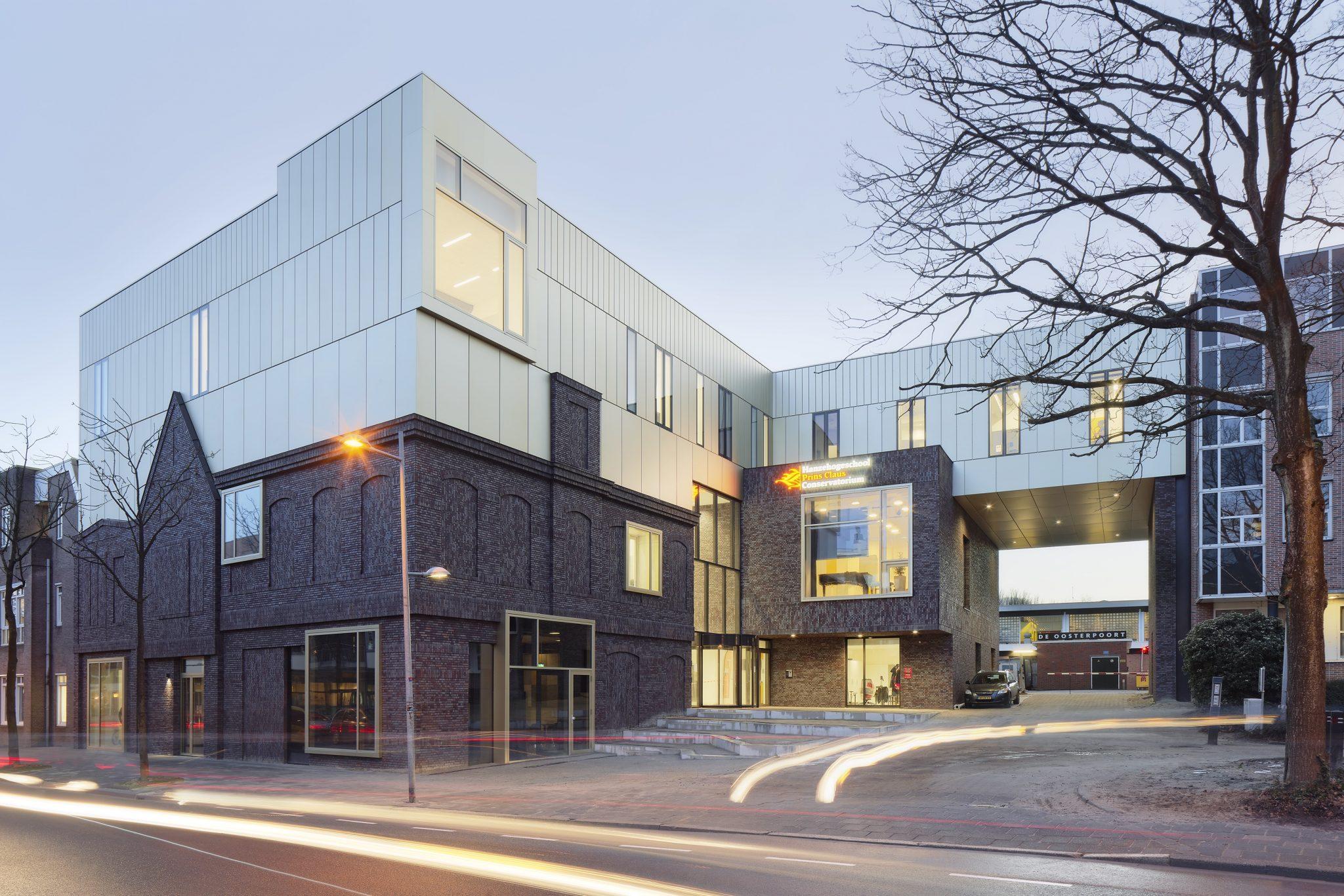 Prins Claus Conservatorium in Groningen, geluidsisolatie