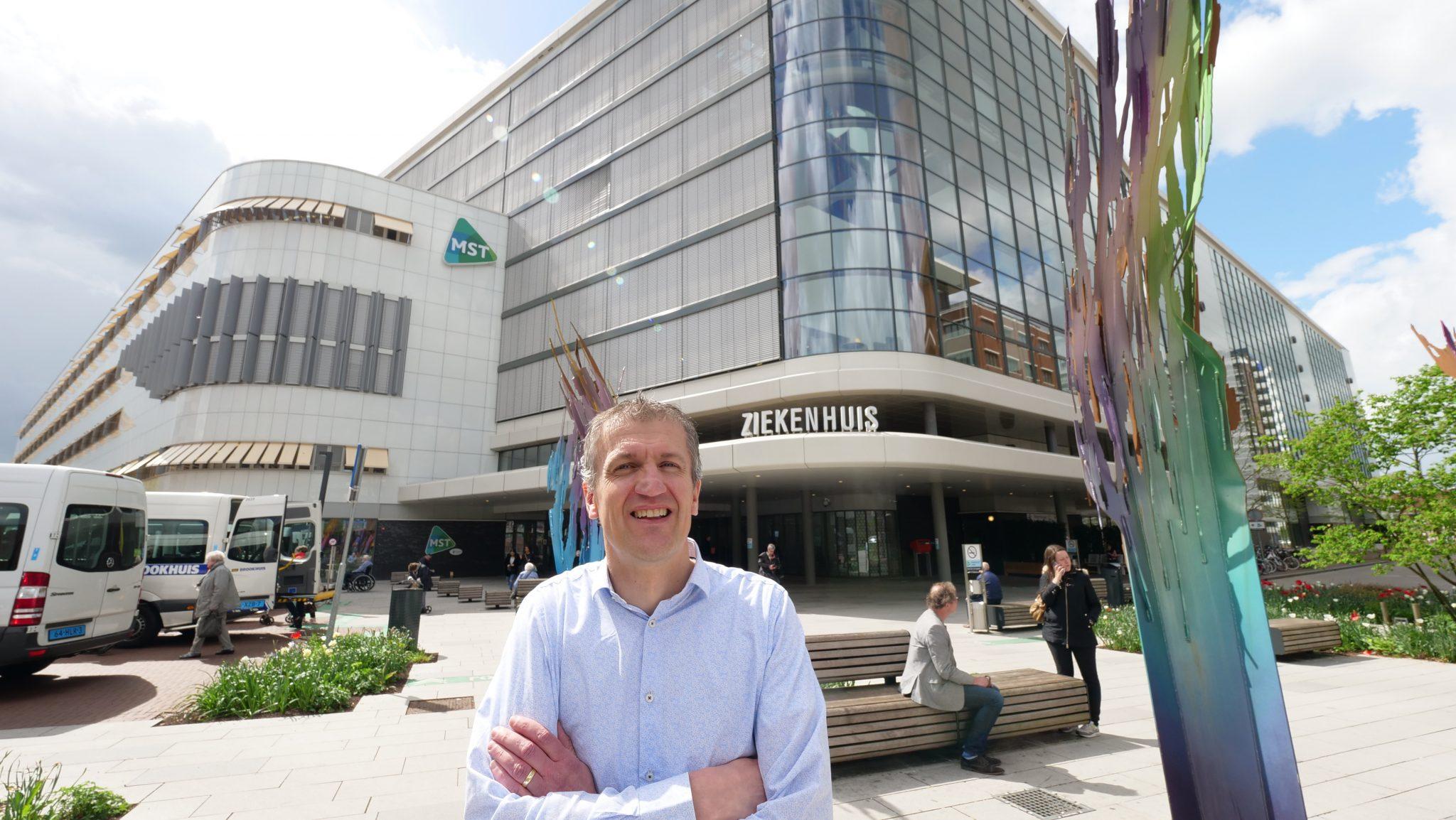 Niels Slotman in Medisch Spectrum Twente