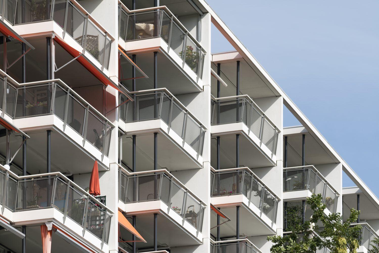 buitenruimte, balkon