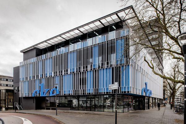 Gevel CKE Eindhoven. Foto: Mike Bink