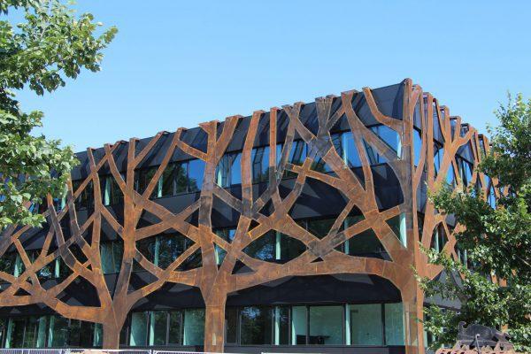 Gevel Graafschap College. Foto: Henk Wind
