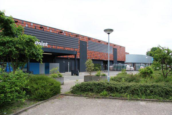 Gevel winkelcentrum Alkmaar. Foto: Henk Wind