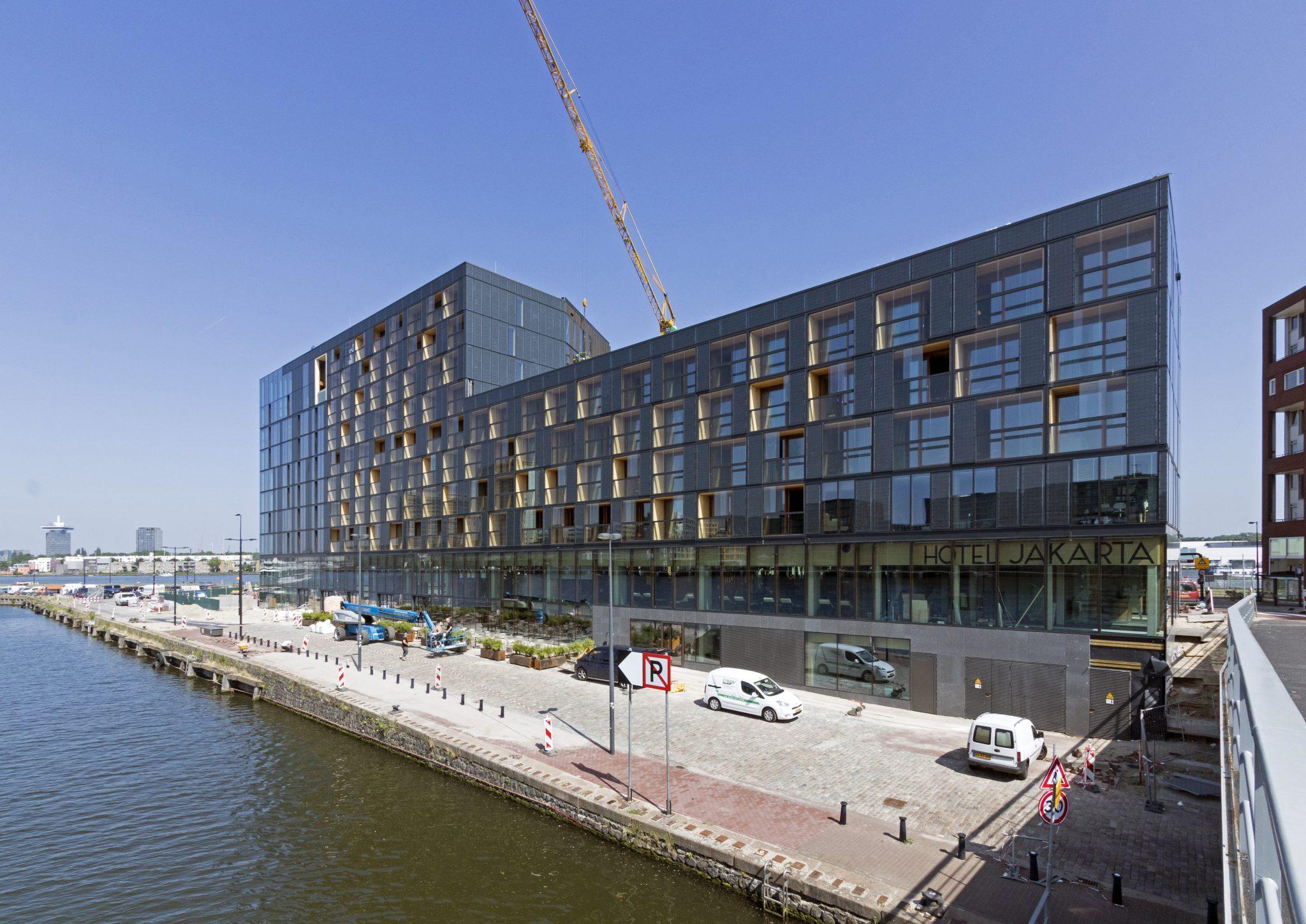 hotel jakarta Amsterdam, draagconstructie
