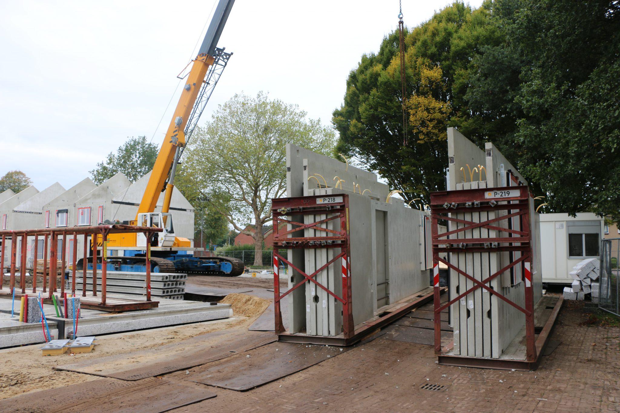 Snel bouwen in BIM DRBG Heembeton wand