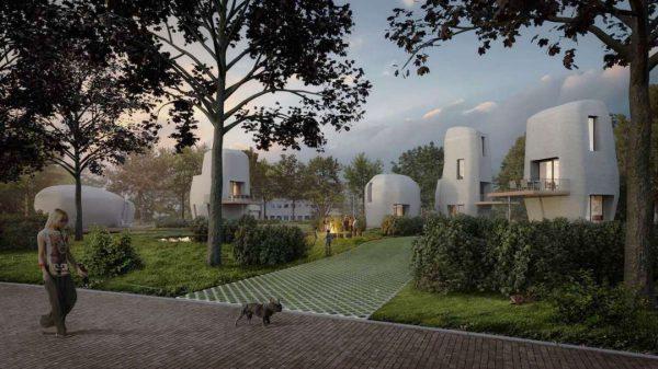 Project Milestone in Eindhoven is in de engineeringsfase. Deze zomer moet de eerste woning worden geprint.