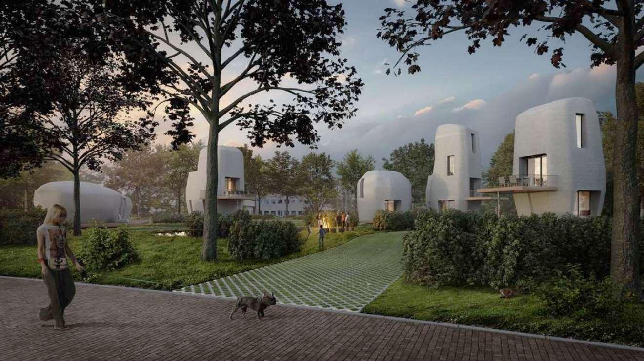 3d betonprinten, project milestone, eindhoven