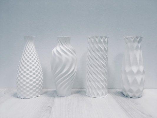 Vazen van Witteveen + Bos kunnen evolueren tot kolommen.