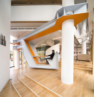 KAPKAR / WS1P-AN, 2018, AkzoNobel Art Space, Amsterdam. Foto: Martin van  Welzen