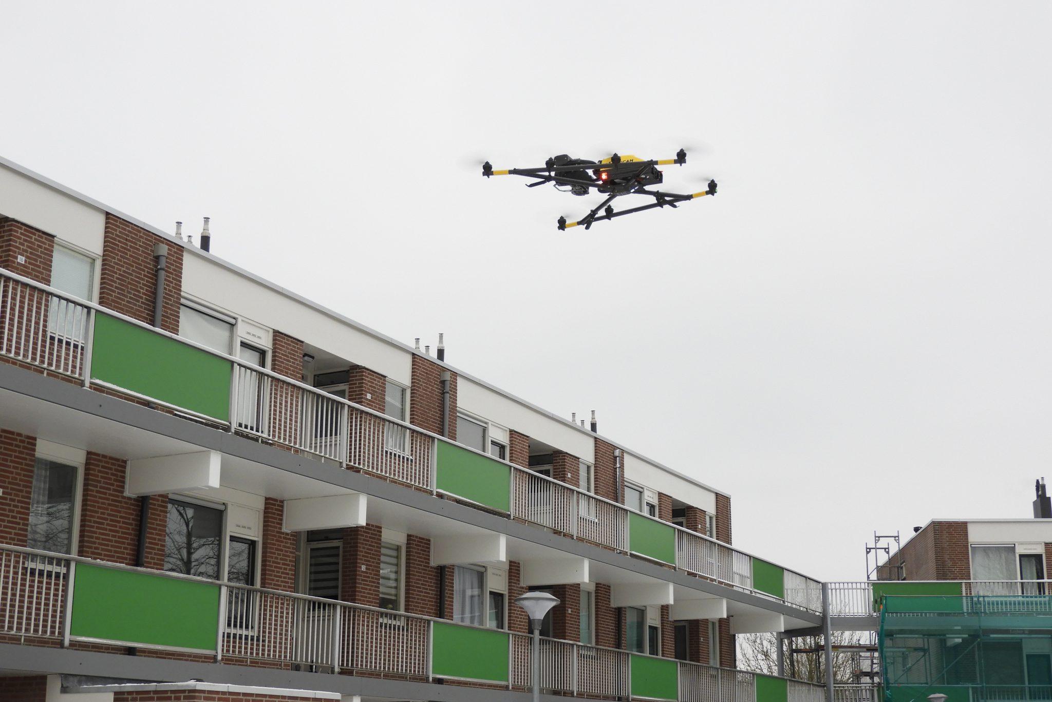 drones, onderhoudsinspecties