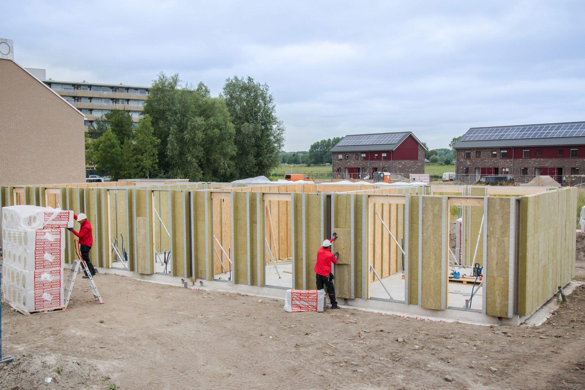 steenwol, isolatie, bouwsyteem, bouwbeurs 2019