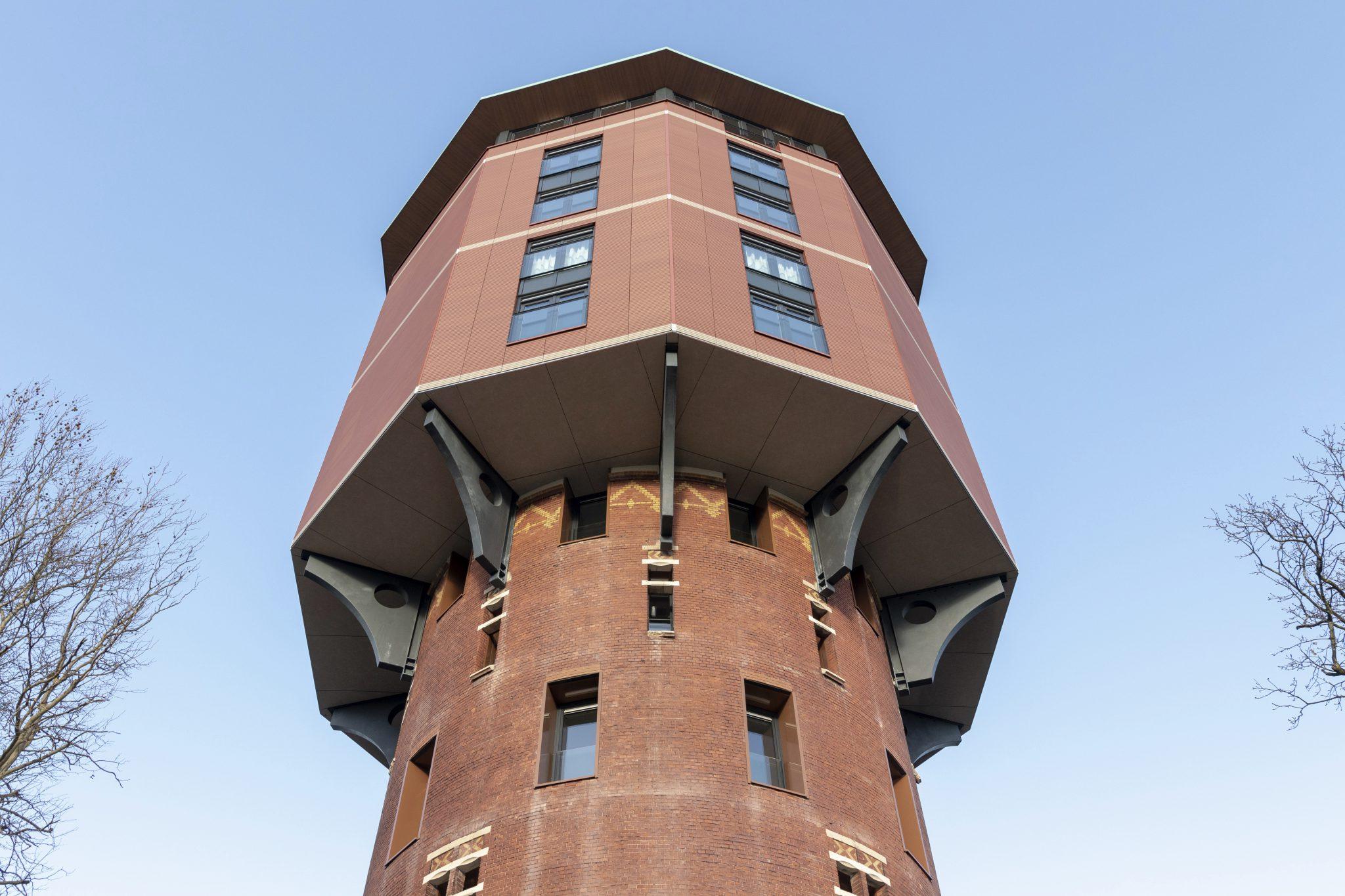 woonwatertoren, watertoren zwolle