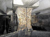 betonrot, aantasting, corrosie, beton