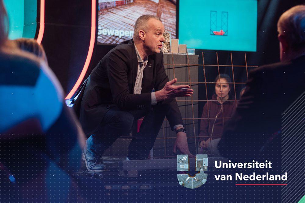 zelfherstellend beton, bacteriën, universiteit van Nederland