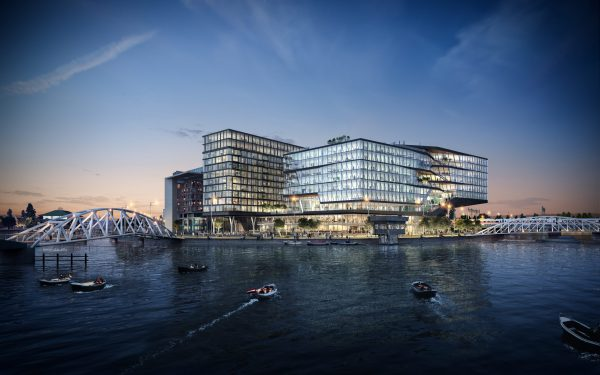 UNStudio ontwierp in 2015 het hoofdkantoor van Booking.com in Amsterdam. (Foto: UNStudio)